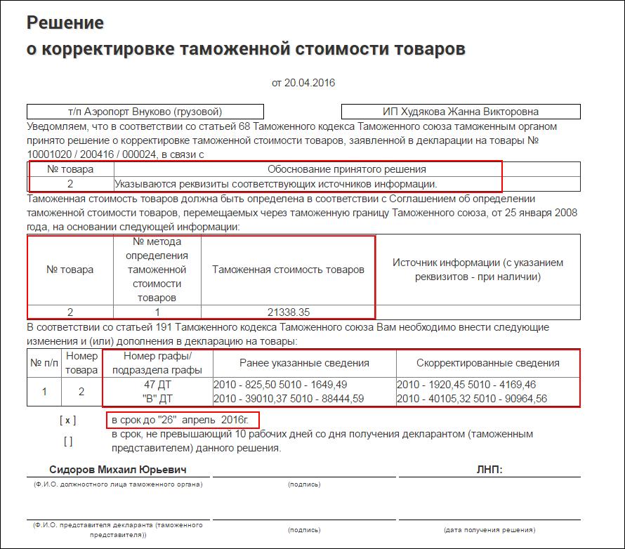документы для регистрации ип в таможне